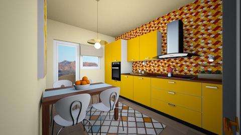 bucatarie 3 - Modern - Kitchen - by Vasile Bianca Rozalia