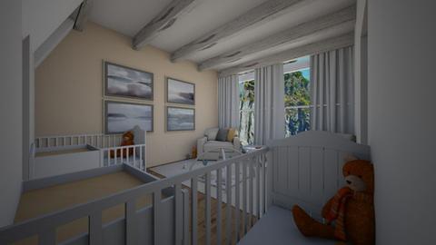 posh - Bedroom - by queenswan2001