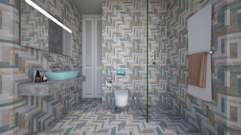 Casa210Bathroom - Minimal - Bathroom - by nickynunes