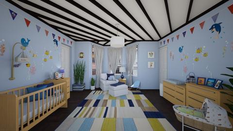 Nursery - Feminine - Kids room - by Larcho1996