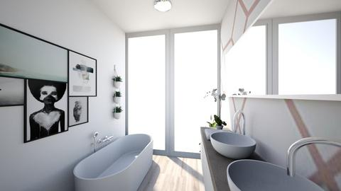Clean Bathroom - Minimal - Bathroom - by AKeeleysHeal