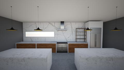 Modern Green Kitchen  - by misharoeters