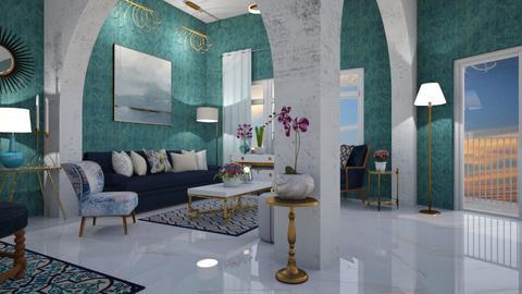 elle living room - Modern - Living room - by mari mar