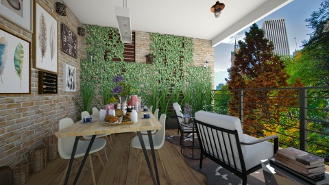 HEDERA - Modern - Garden - by aletamahi