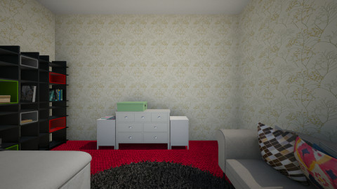 room dexuse - Modern - Bedroom - by MaryLondt