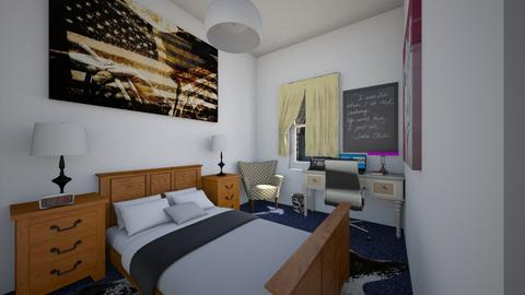 Country City Mix - Bedroom - by SammyJPili