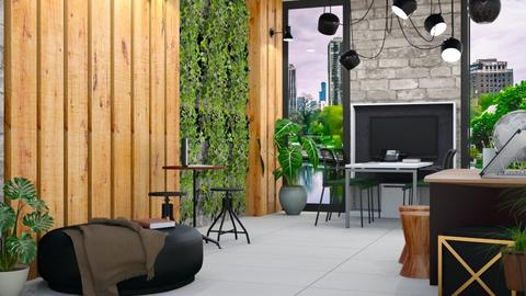 Living Office Wall 2 - Modern - Office - by millerfam