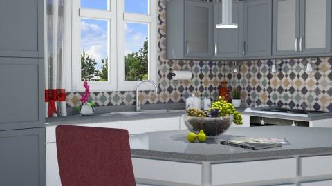 M_Kitchen corner - Modern - Kitchen - by milyca8