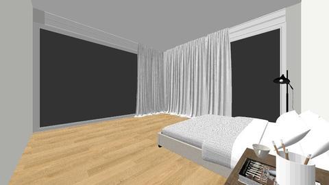 Minimalist Room - Bedroom - by AlannaJuice