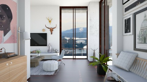 Chill Day - Modern - Living room - by Yaiqyn