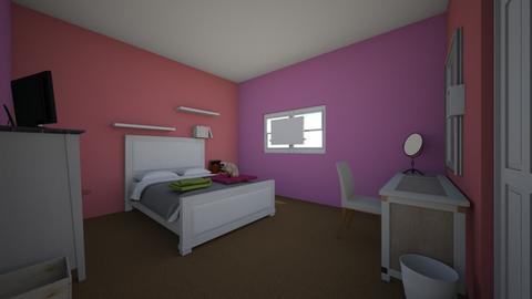 Evas bedroom - Minimal - Bedroom - by edunmow17