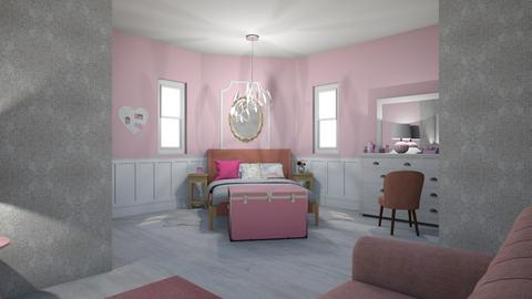 pink - Bedroom - by abbyt94