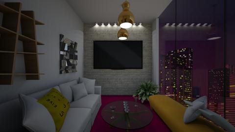 Bling Bling - Living room - by Sarahsilvaj