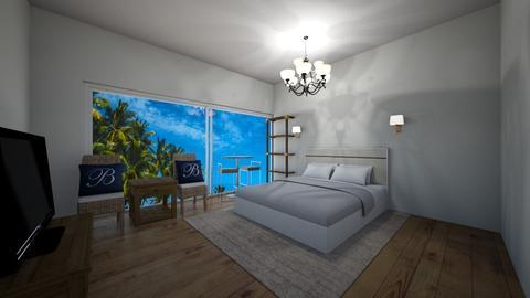 Beach Hotel - Bedroom - by New York Mets