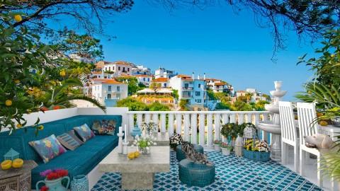 Design 287 Mediterranean View - Garden - by Daisy320
