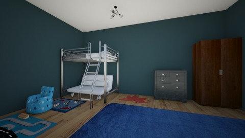 brothers bedroom - Kids room - by bethanyann