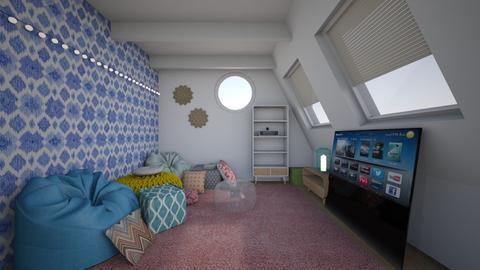 kids attic hideaway - Kids room - by katsumi1016