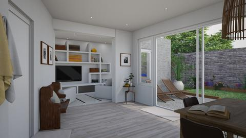 Living room and kitchen - Living room - by Sarah Anjuli Gailey