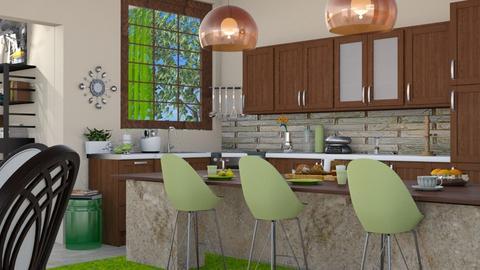 colours Kitchen - Kitchen - by milyca8