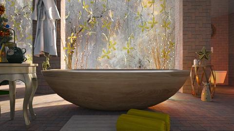 Golden_Deer - Bathroom - by ZuzanaDesign
