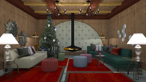 Christmas Den - Classic - Living room - by 3rdfloor