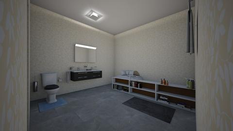 Guest Bathroom _set_ - Modern - Bathroom - by cupcake oncer