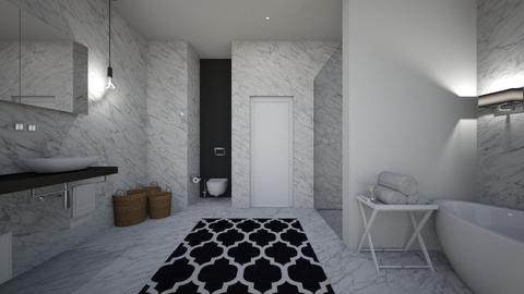 marble_bathroom3 - Bathroom - by MaluMeyer