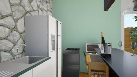 Small Kitchen - Kitchen - by Flowr
