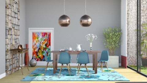 Jantar 3 - Dining room - by Alecio