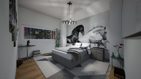 bedroom lll - Bedroom - by DanielFelipe22