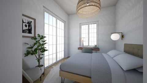Guest House  - Modern - Bedroom - by virtuestella