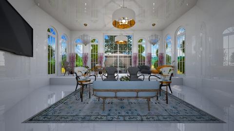 afwghuji - Living room - by da1sy13