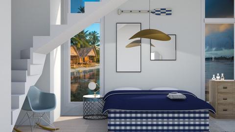 Nautically Naughty - Modern - Bedroom - by Jessica Fox