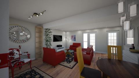 Main_STAGE1 - Modern - Living room - by uselessdesigner