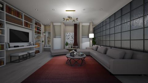 example - Living room - by Grigoria Popli