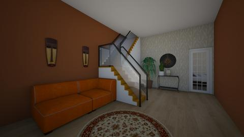 African styled room - Rustic - Living room - by adurkin200664