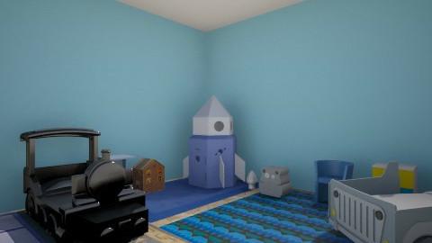 BLUE KIDDY - Masculine - Kids room - by xholyyy