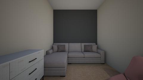 my actual room - Minimal - Bedroom - by lilmam474