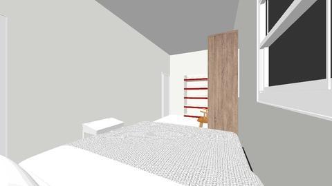 Pacita existing - Retro - Bedroom - by Red Abdulla