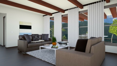 southern cali - Modern - Living room - by somei
