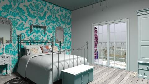 Cottage Master Bedroom - by derers_brown