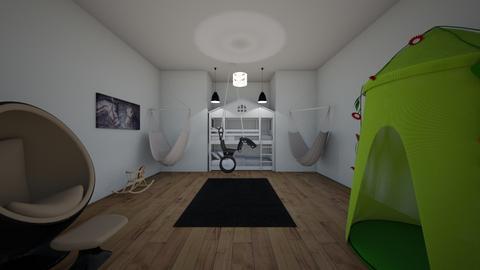 Horse bedroom contest - Bedroom - by Crazy cat girl 10
