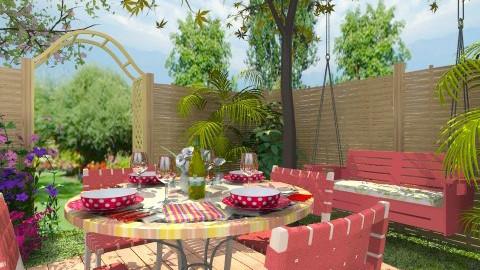 Outdoor Dining - Classic - Garden - by Bibiche