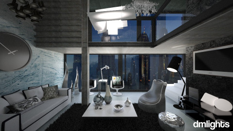 Future Living  - Living room - by DMLights-user-1042262
