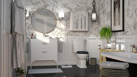 Eclectic Bathroom - Bathroom - by GraceKathryn