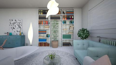 Plan parter complet 2_0 - Living room - by decorina