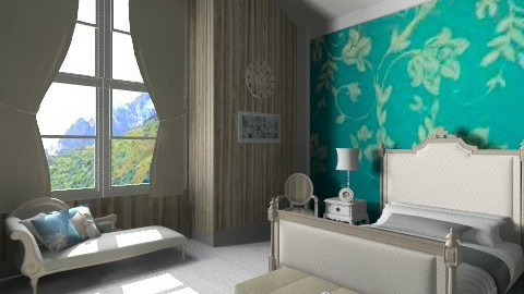 french bedroom - Classic - Bedroom - by Cejovic Andrijana