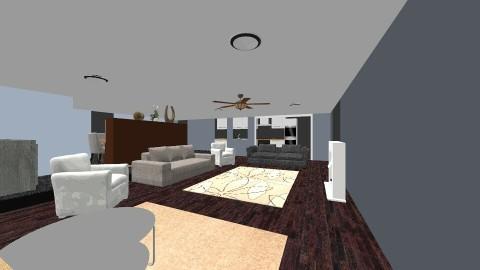 living_dinning - Living room - by ayatobero