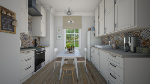 Kitchen - Classic - Kitchen - by Tuija