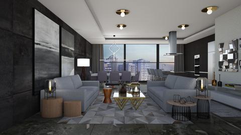 Minimal - Living room - by aletamahi